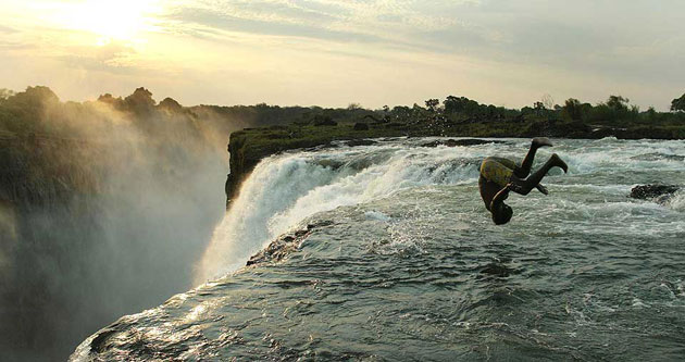 Swimming with the Devil: Devil's Pool, Victoria Falls