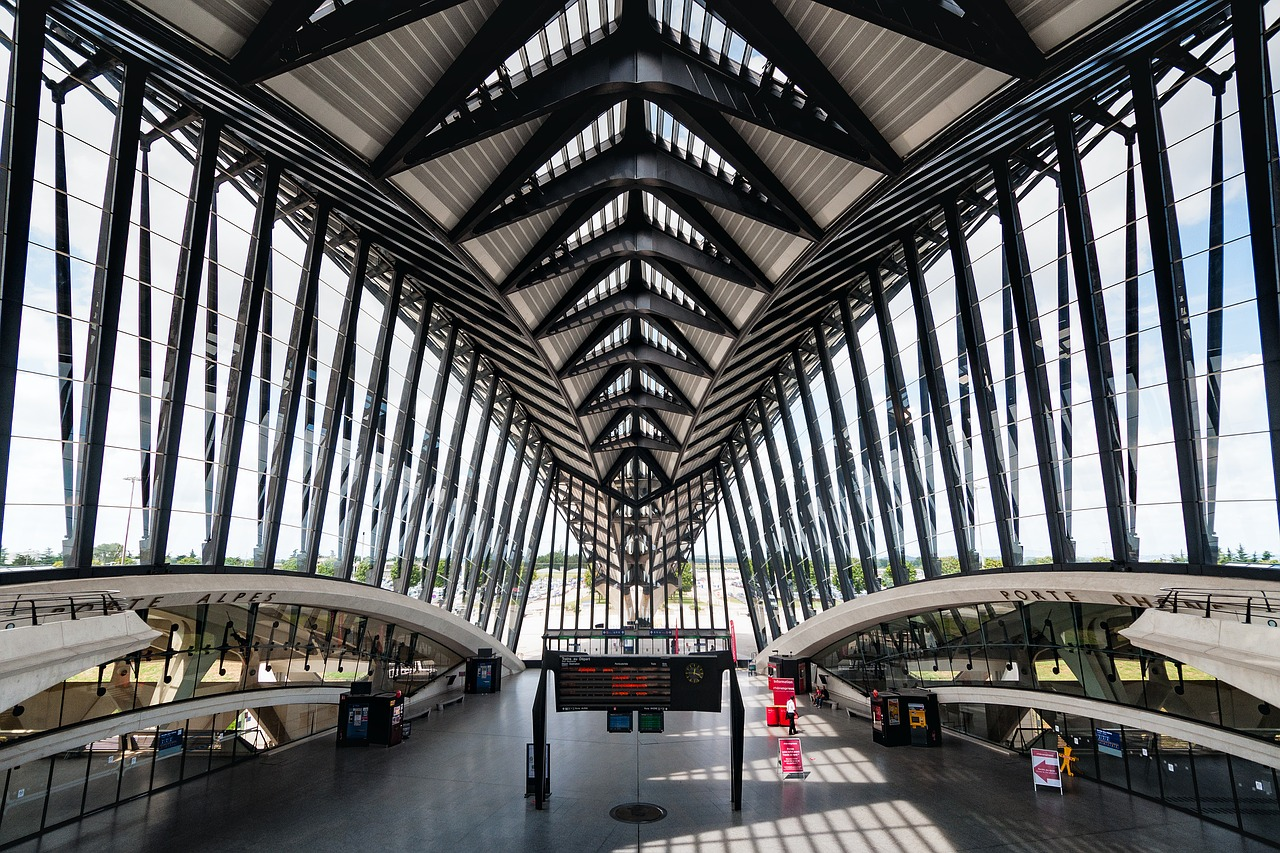 Saint Exupery International Airport, Lyon, France - Most Beautiful Airports in the World