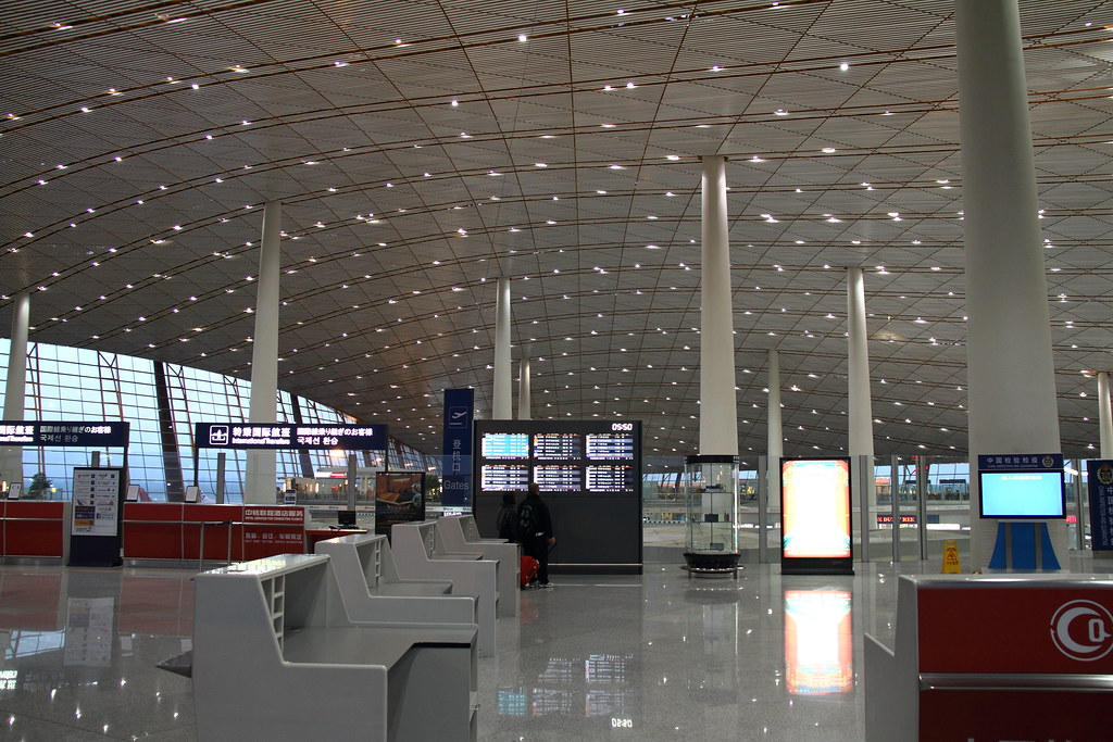 Beijing International Airport - Most Beautiful Airports in the World