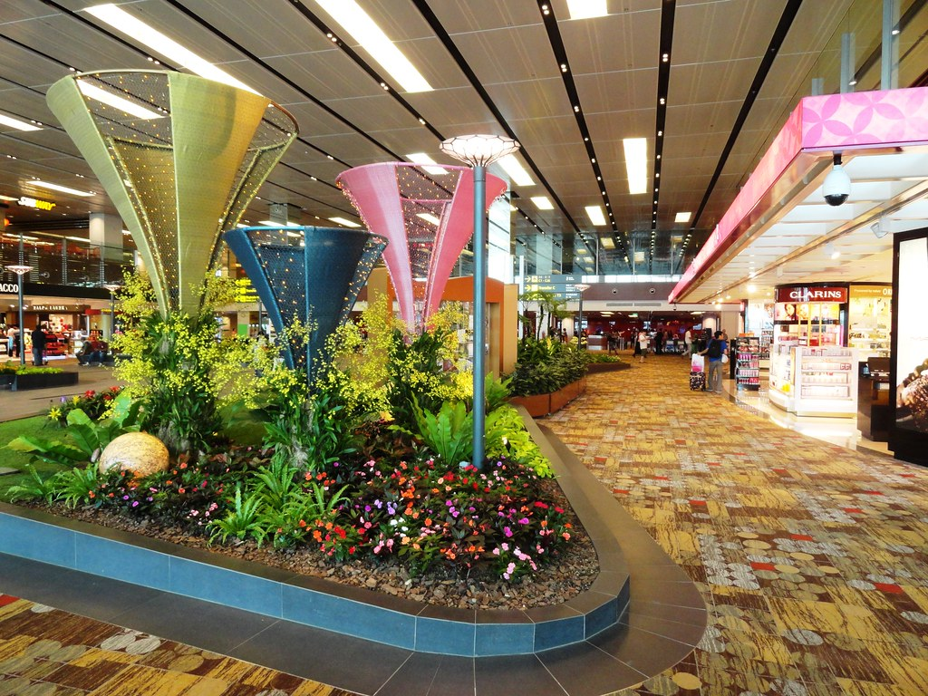 Singapore-Changi International Airport - Most Beautiful Airports in the World