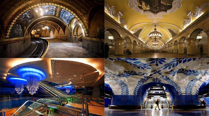 The World's Most Beautiful Subway Stations