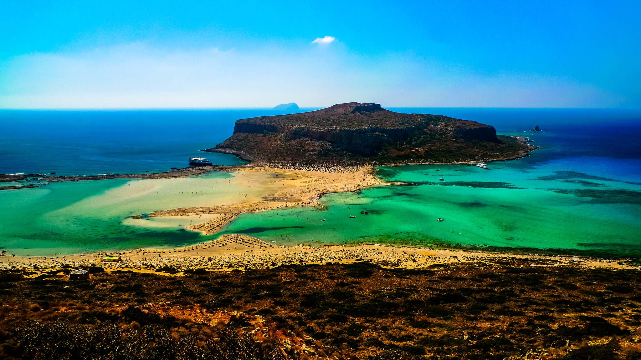Balos Beach, Chania, Crete, Greece
