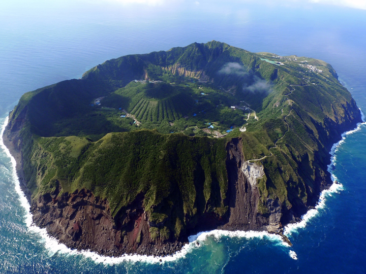 Life Inside an Active Volcano: Aogashima Island, Japan