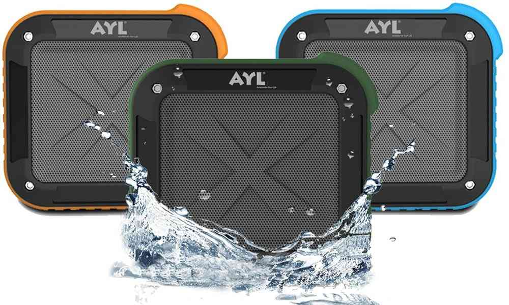 AYL Portable Outdoor and Shower Bluetooth Speaker Review