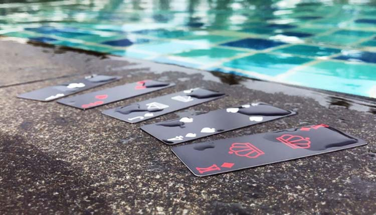 Waterproof & Stylish Air Deck Playing Cards, Now On Kickstarter