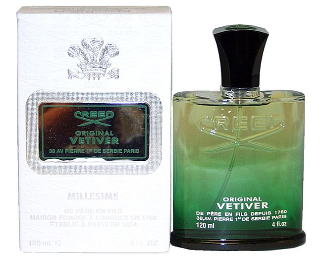 Vetiver: best smelling Creed fragrance ever, maybe?