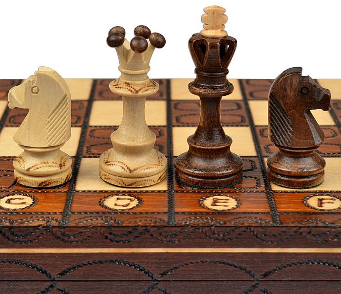 Best wooden chess set for home plays; Wegiel's