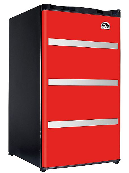 Igloo's seductive red charms us as the best mini fridge for beer