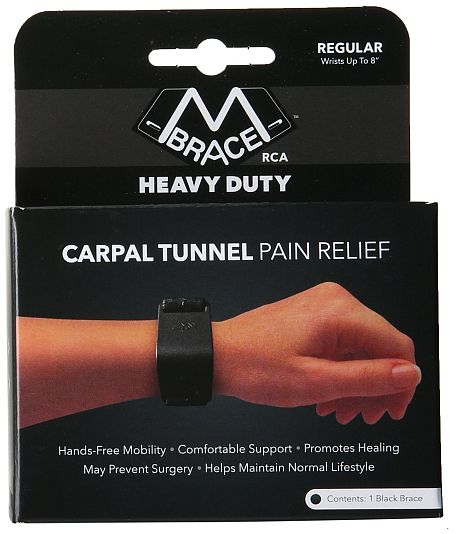 Best innovative carpal tunnel wrist support: M Brace RCA