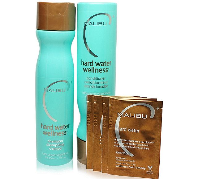 Malibu come up with the best shampoo for hard water hair.