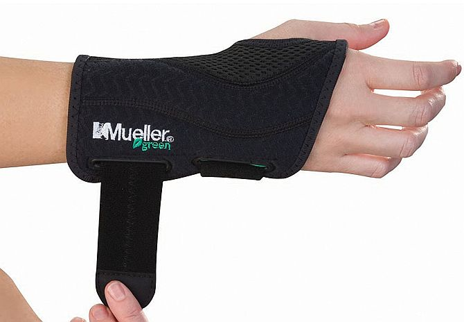 Best wrist brace for carpal tunnel syndrome would be Mueller's green one.