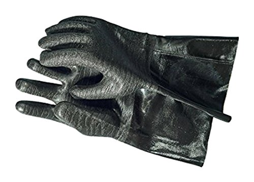 Made of heat-resistant, comfy neoprene, these are the best gloves for BBQ I know.