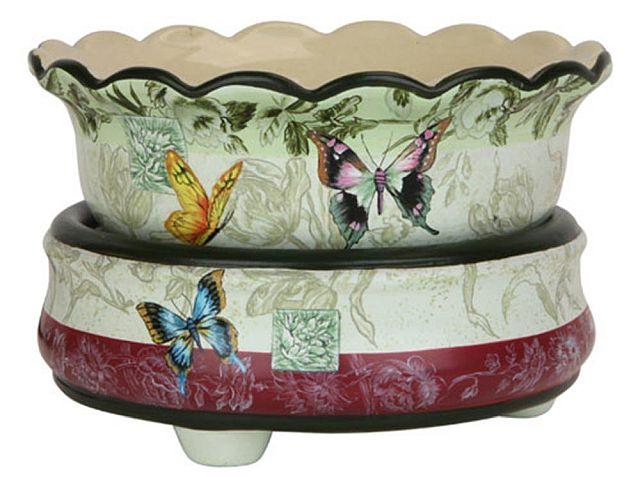 Cutest jar candle warmer: OBI Butterfly
