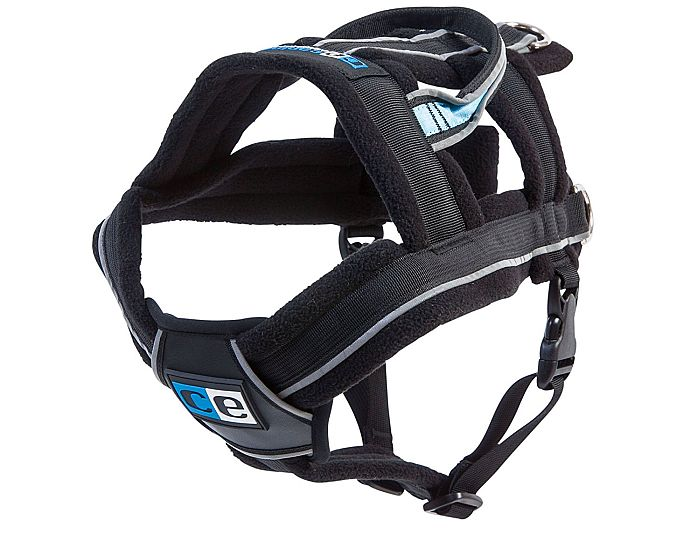 CE come up with the best husky harness for pulling, really sturdy and flexible.