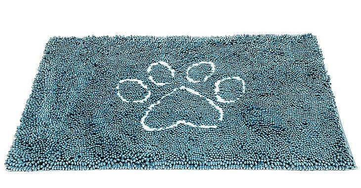 This just might be the world's best absorbent door mat for dogs, given its materials and durability.