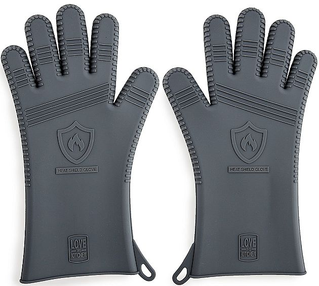Best silicone BBQ gloves? This is a nice pair that will open up the grilling world for you.