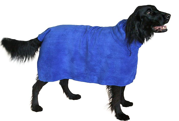 SnugglyDog is the best full-size dog drying towel, or so we think!
