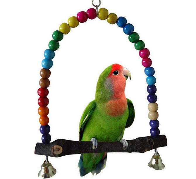 Yosoo's swing is probably the best swing toy for budgies we've seen.