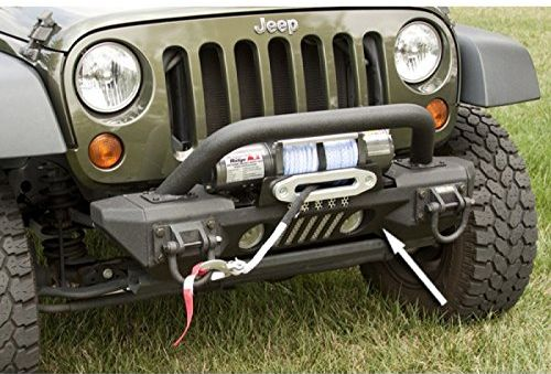 Rugged Ridge have some outstanding aluminium bumpers for Jeep JRs.