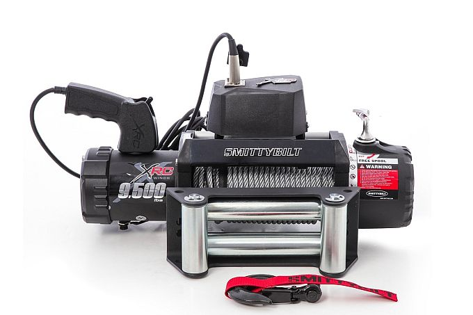 Smittybilt also have nice JK winches, with this one being great at 9500 pull, but somewhat weighty build.