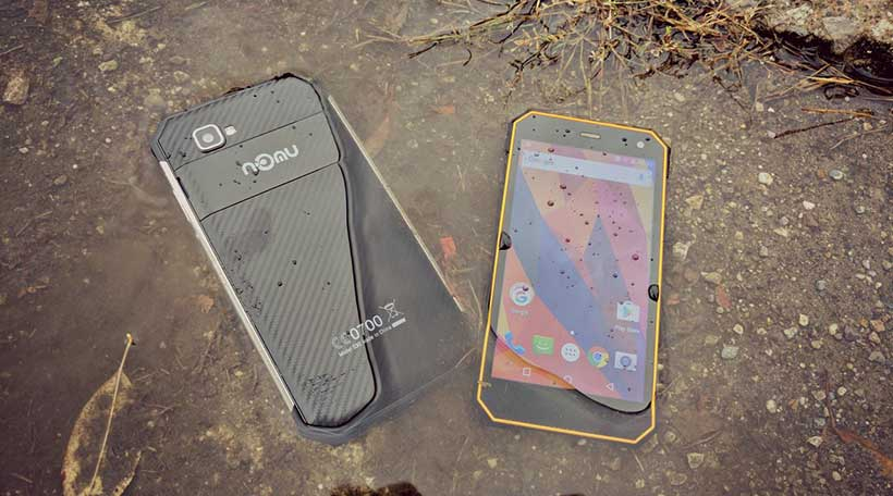 NOMU S30 Mini, The New'n'Cute Waterproof Phone