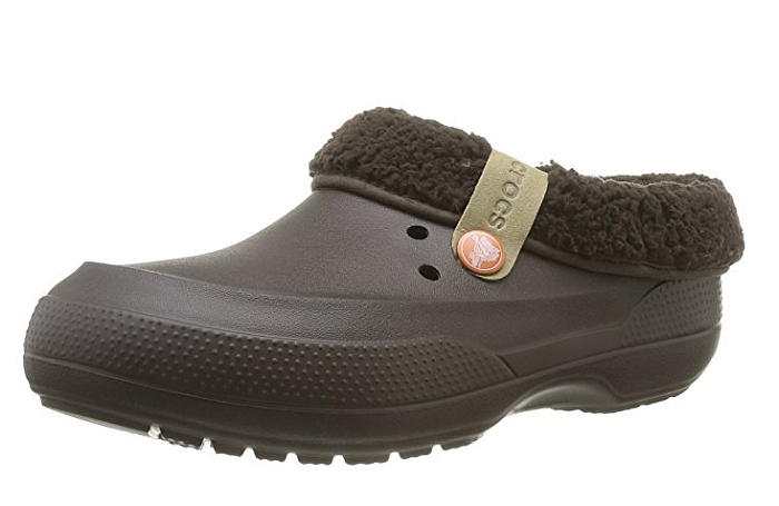 Definitely the best crocs for hard floors - both tiles or hardwood. The fleece lining helps with warmth during the winter!
