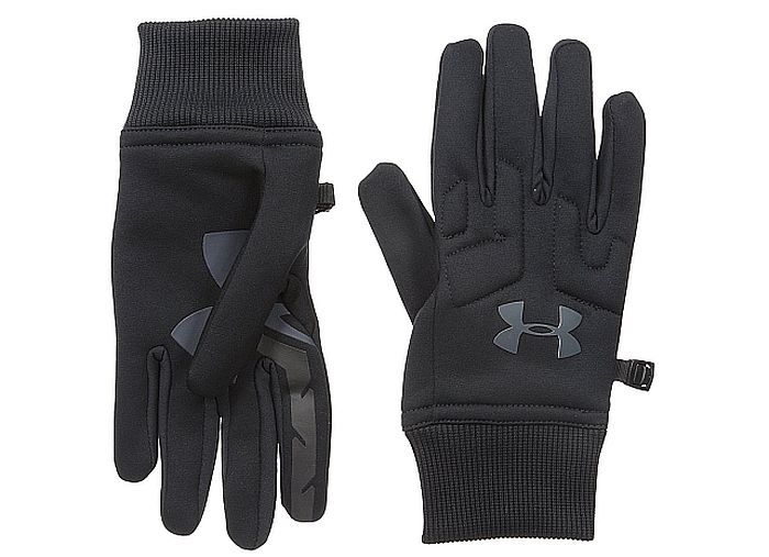 Under Armour's fleece gloves for cold weather deliver warmth and dexterity, along with being so-so thin.