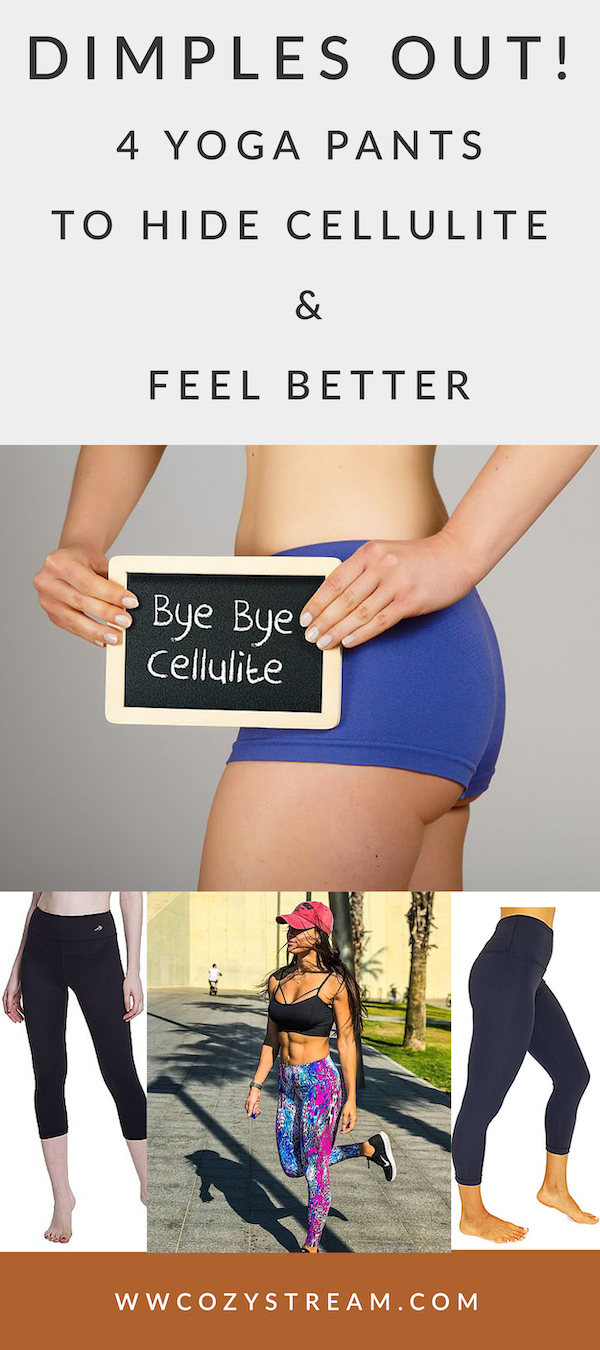 5d419bc163 Dimples Out! 4 Best Yoga Pants to Hide Cellulite & Feel Better