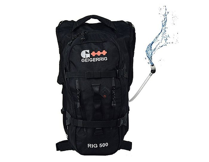Geigerrig 500: an outstanding, 2l. capacity hydration pack for Spartan beast marathons!