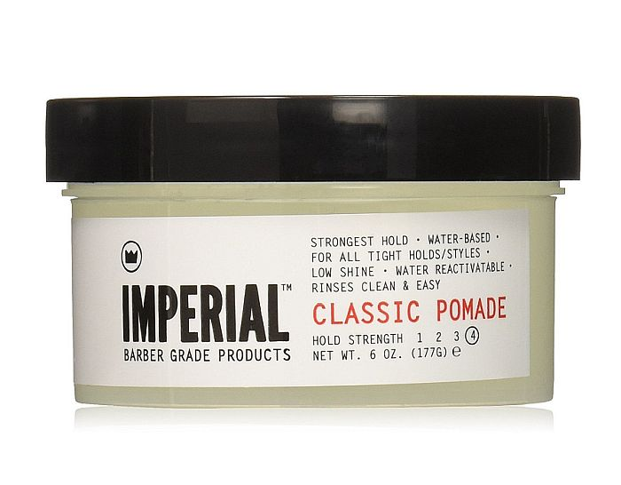 Imperial's pomade provides the strongest hold for those men who have thin, ultra fine hair.