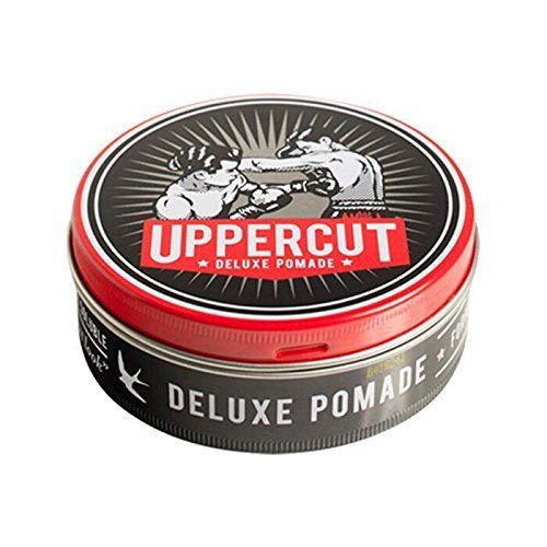 Uppercut Deluxe is a pomade for thinning hair that provides a little more shine than other similar products.