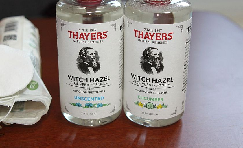 Thayers witch hazel toner: it saved my skin