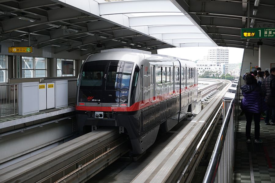 The Monorail in Okinawa: A Clean, Exciting Ride!