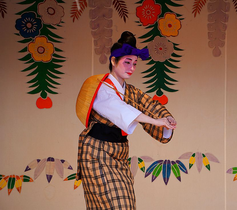 Shuri Castle Dance Spectacle