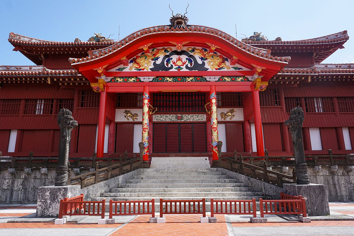 Shuri Castle: The Main Temple. An absolute amazing building