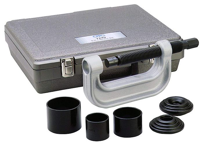 Best ball joint press tool: Remember to consider where your kit is actually manufactured. Especially the clamp!