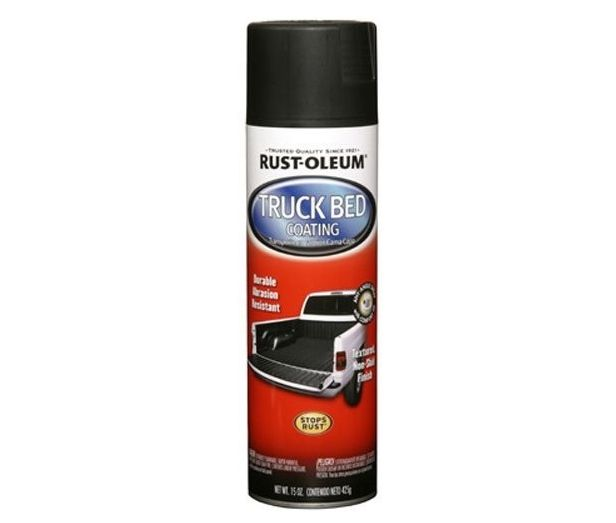 Rustoleum vs Herculiner: Rustoleum is definitely smoother, but comes with a thinner consistency too. Here's my comparison