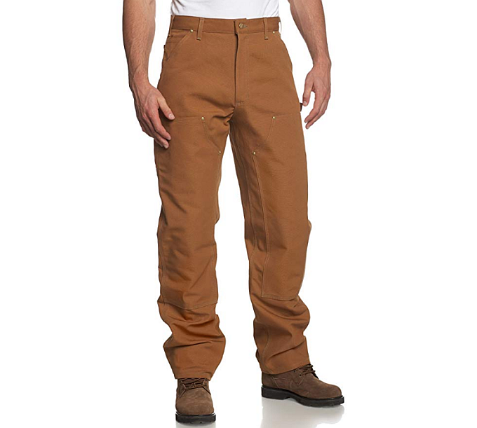 Carhartt or Dickies work pants? If it's about classic duck pants / dungaree, then Carhartt are definitely a better choice