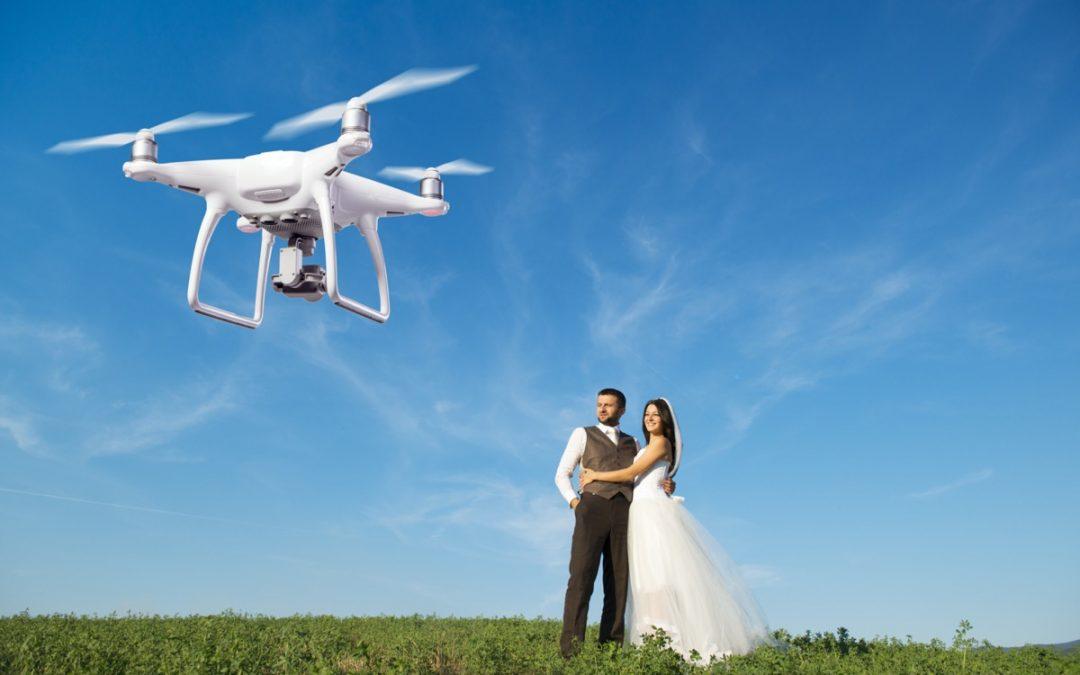 Trend alert: Wedding Drones