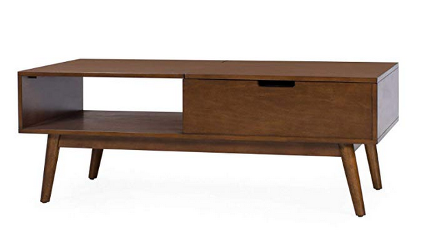 Mid-Century Modern Lift Top Coffee Table