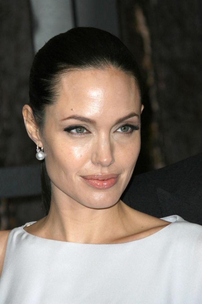 Angelina Jolie's High Hairline