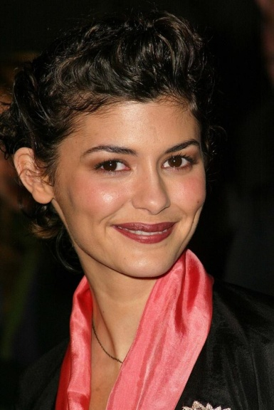 Audrey Tautou's Low Hairline