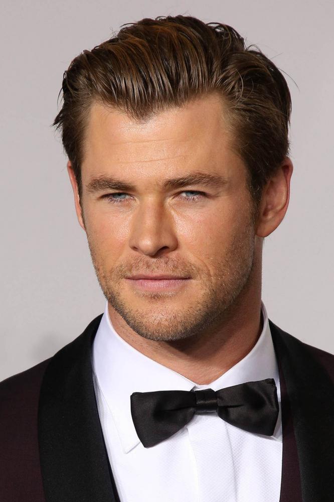 Chris Hemsworth's Widow's Peak Hairline