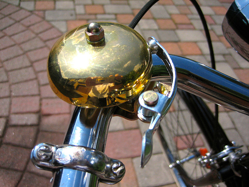 Bicycle Bell on Bike