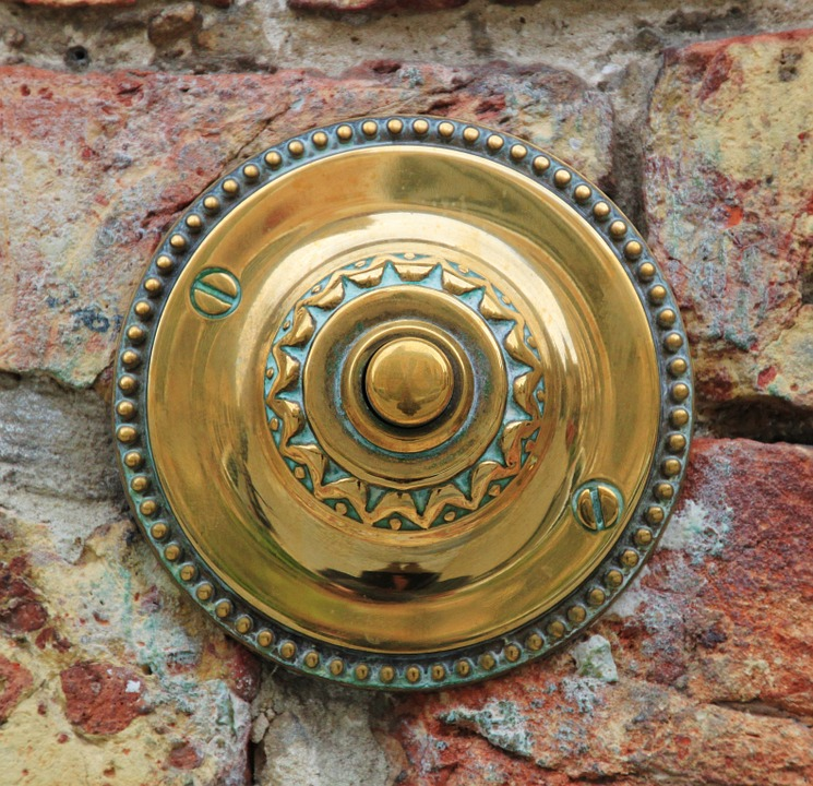 Door Bell on House