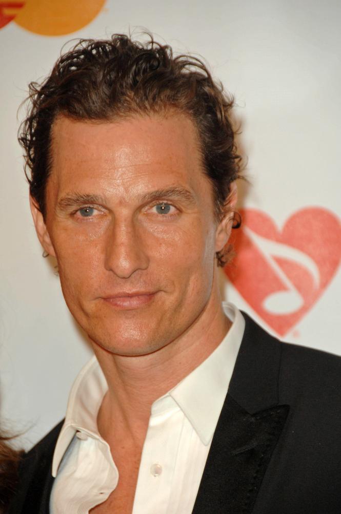Matthew McConaughey's Receding Hairline