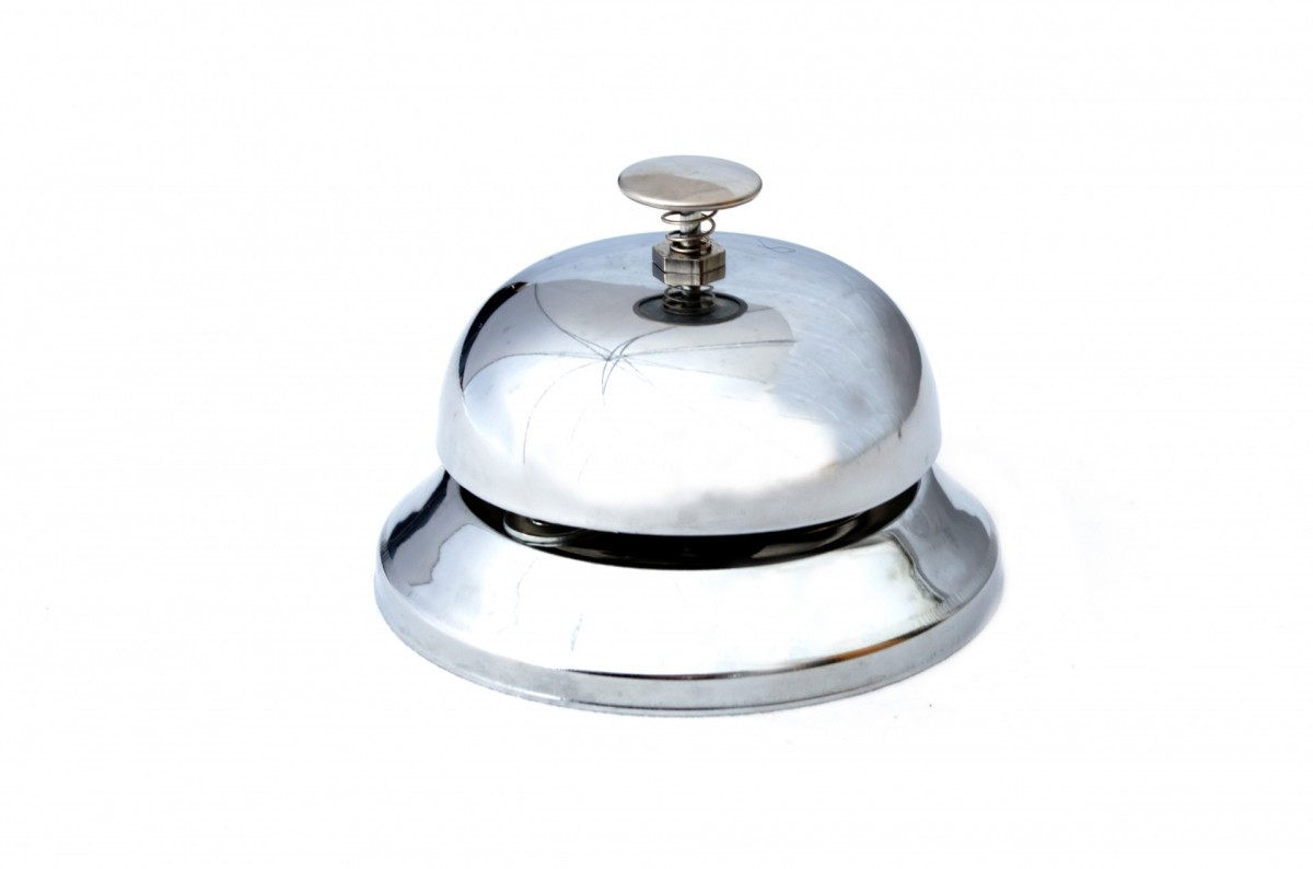 Silver Call Bell