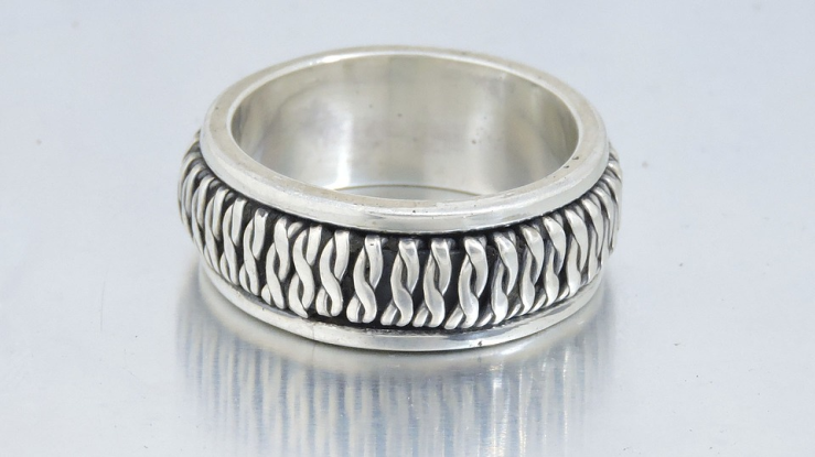 Sterling .925 Silver Wedding Band