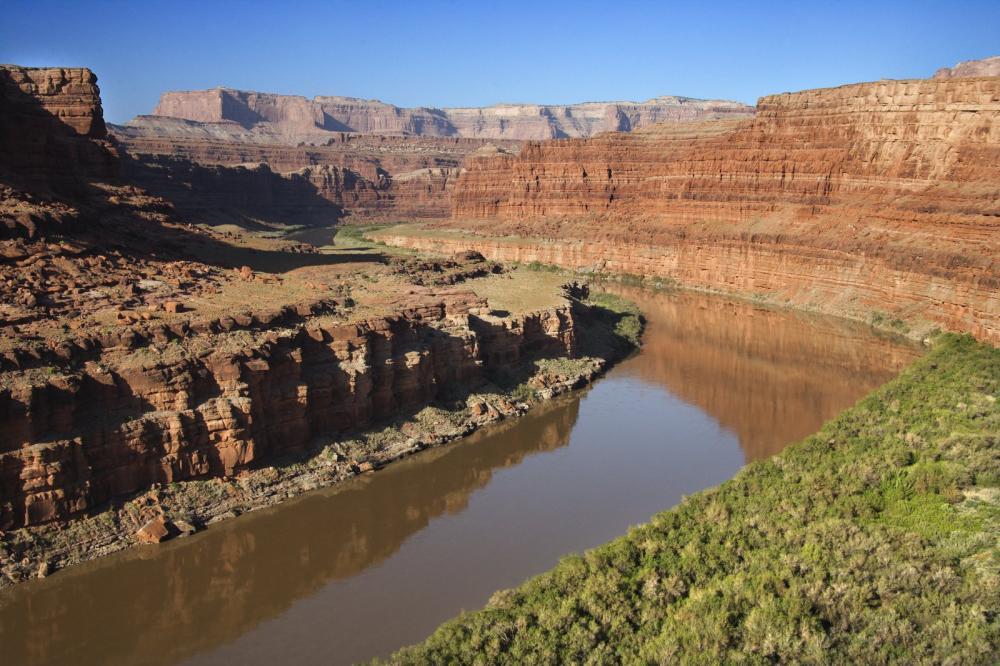 The Colorado River, Utah, USA