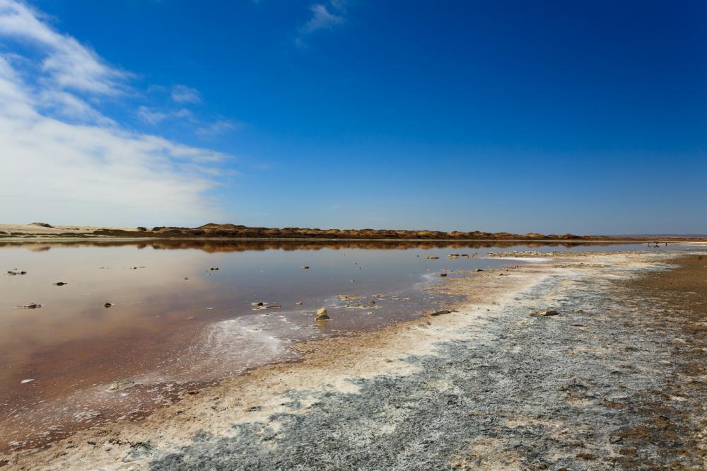 The Ugab River, Namibia
